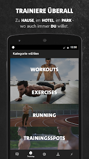 Freeletics Bodyweight Screenshot