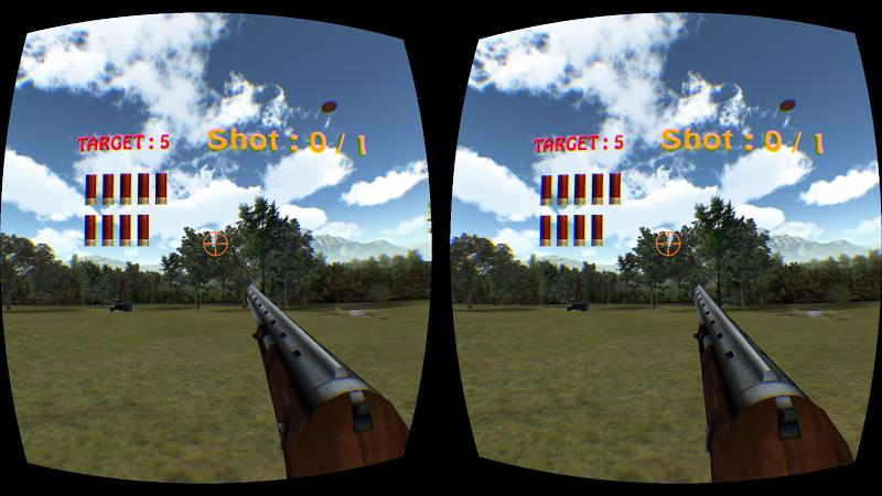 Скриншот Clay Shooting VR