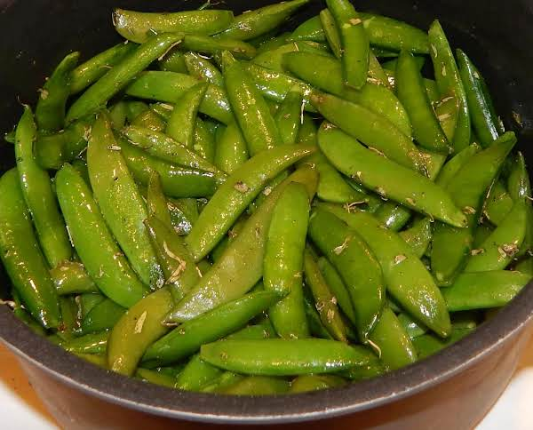 Steamed Sugar Snap Peas Recipe