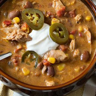 Slow Cooker Tex Mex Chicken Stew