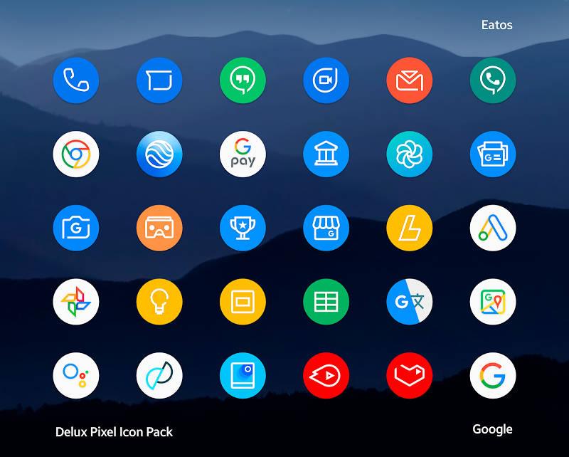 Delux - Pixel Icon pack Screenshot 1