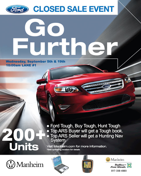 Photo: Ford Factory Closed Sale. 200+units. September 5th & 19th FORD TOUGH, BUY TOUGH, HUNT TOUGH