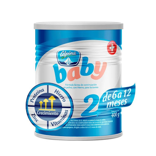 formula baby alpina 6-12 meses 400gr