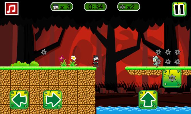 Ninja VS Zombie - screenshot