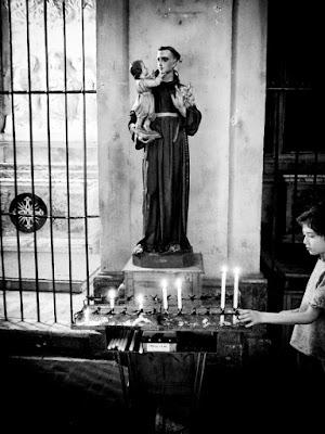 Sant'Antonio protettore dei bambini di Marino Paroli
