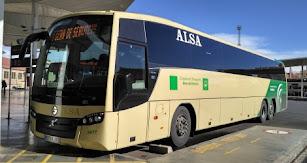 Autobús de la compañía.