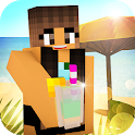 Beach Party Craft: Summer High School Adventure icon