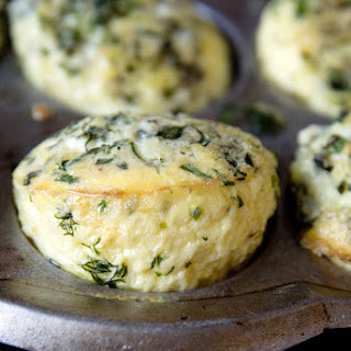 Herby Egg and Blue Cheese SouffléS Recipe