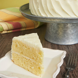 Citrus Cake with Tequila-Lime Frosting.