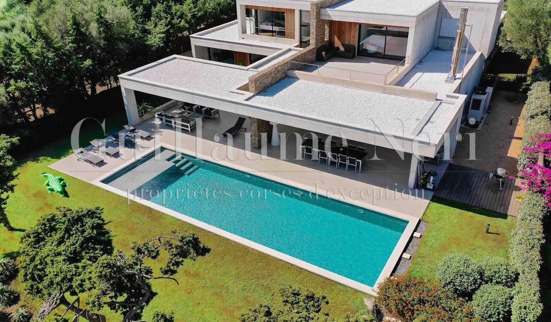 Villa with pool and garden Ajaccio