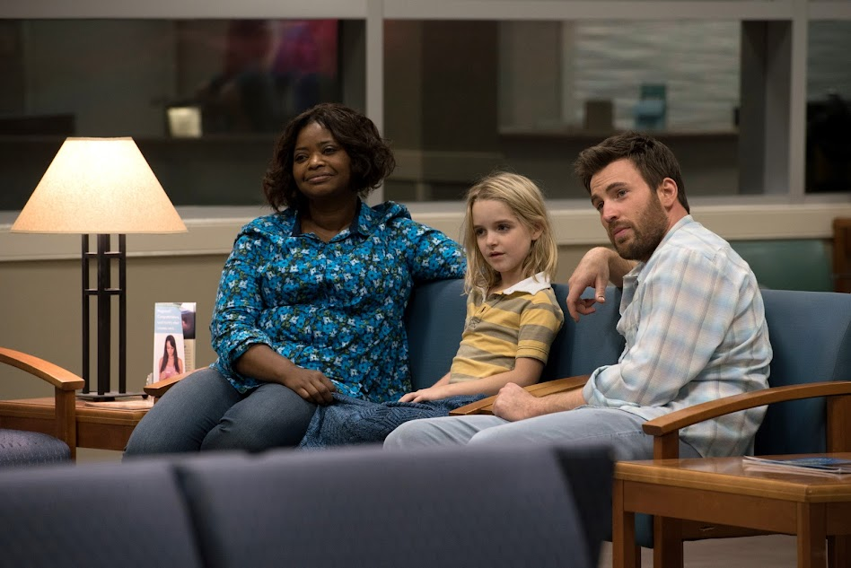 Gifted movie starring Chris Evans, McKenna Grace, and Octavia Spencer