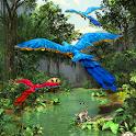 3D Rainforest Live Wallpaper icon