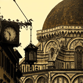 Firenze by Cristiana Chivarria - Buildings & Architecture Architectural Detail ( santa maria del fiori, florence, firenze, cathedral, duomo )