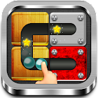 Unblock Rolling Ball Slide Puzzle Block icon