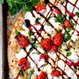 Chicken Bruschetta Pizza.