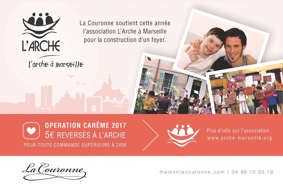 Opération de solidarité pour L'Arche à Marseille