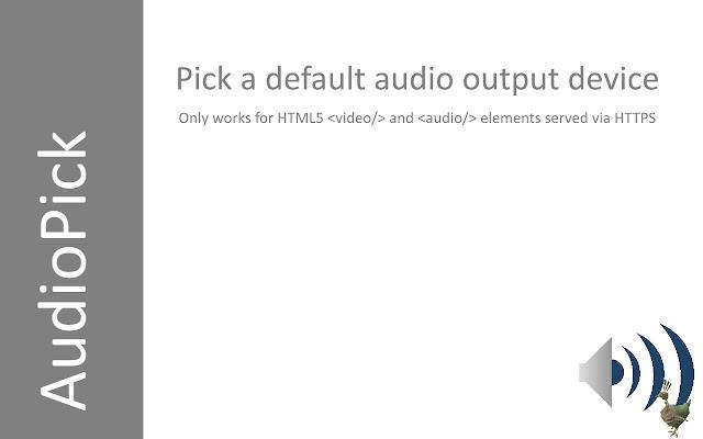 AudioPick