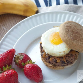 Vegetarian Make-Ahead Freezer Breakfast Sandwiches
