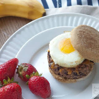 Vegetarian Make-Ahead Freezer Breakfast Sandwiches.
