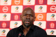 Steve Komphela, coach of Bloemfontein Celtic during the Absa Premiership 2018/19 Coach and Player of the Month Announcement at the PSL Offices, Johannesburg on 17 September 2018.