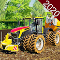Real Cargo Tractor Driving Farming Games 3d:Sim icon