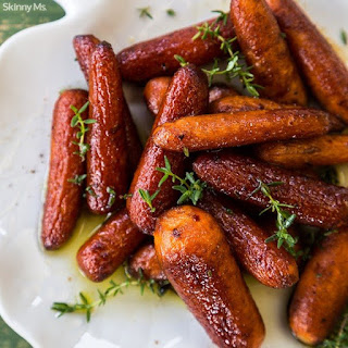 Balsamic Roasted Carrots.