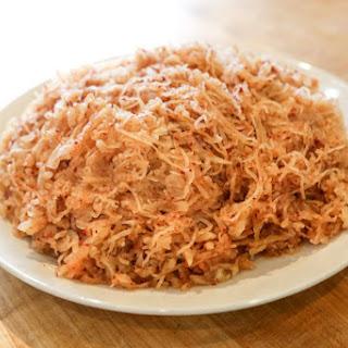 Spicy Daikon Radish Threads Recipe