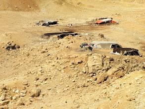 Photo: Bedouin camp