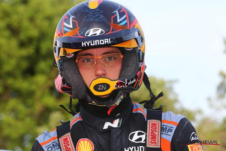 Thierry Neuville houdt podiumplaats vast in Rally van Sardinië, achterstand op WK-leider dikt wel aan