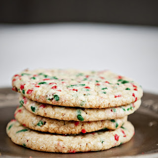 Christmas Confetti Cookies