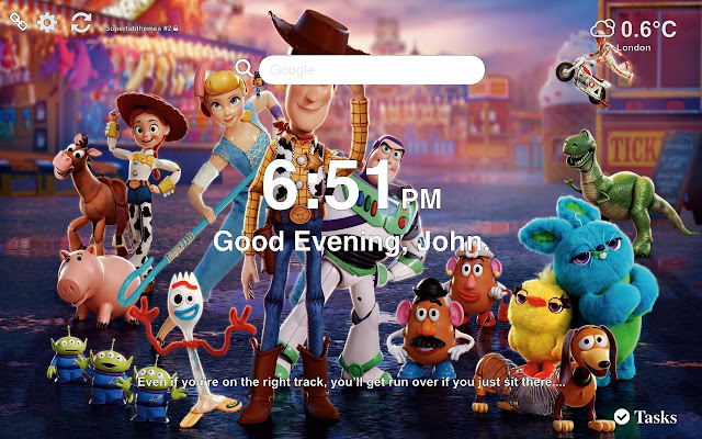 Toy Story 4 Wallpapers and New Tab 2019