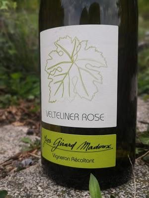 Velterliner Rose - Malvoisie - Vin de Savoie - Vin de France - Yves Girard-Madoux - Vignoble de la Pierre