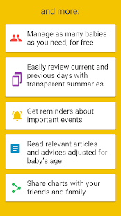App Baby Manager - Breastfeeding Log and Tracker APK for Windows Phone