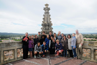 Photo: Atop Narbonne Cathedral