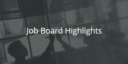 BloggingPro Job Board Highlights, May 27, 2019