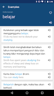 Indonesian English Dictionary- screenshot thumbnail