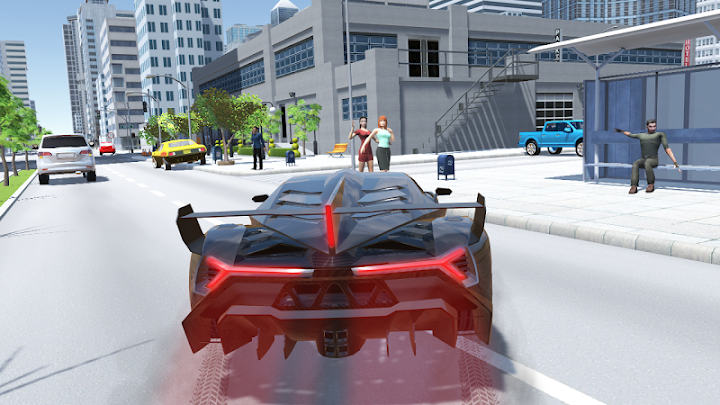 Car Simulator Veneno Android App Screenshot