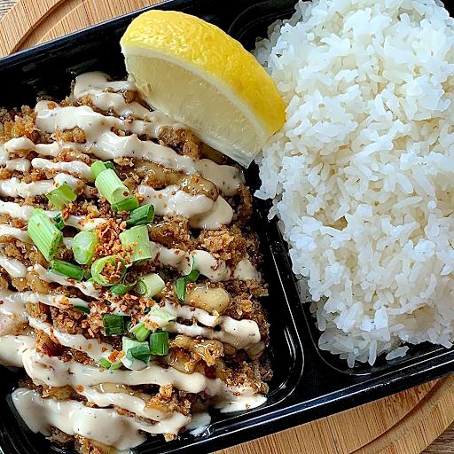 Chicken Sisig Rice Combo