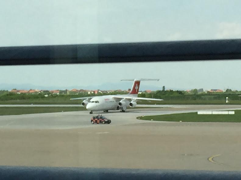 ザグレブ スイス航空