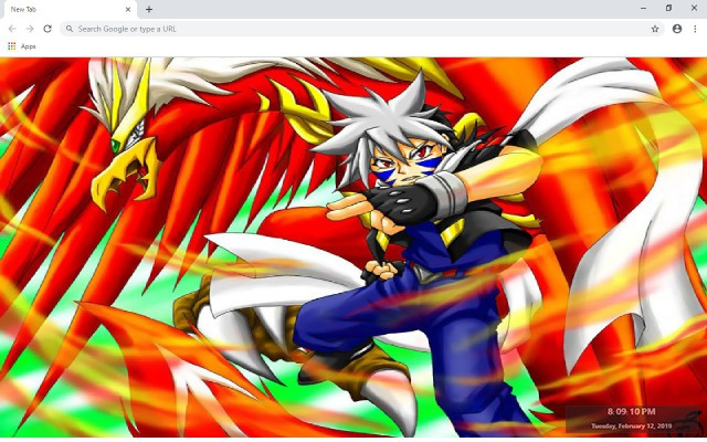 Beyblade New Tab & Wallpapers Collection