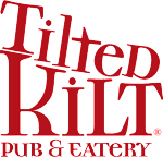 Logo for Tilted Kilt Pub and Eatery Orange