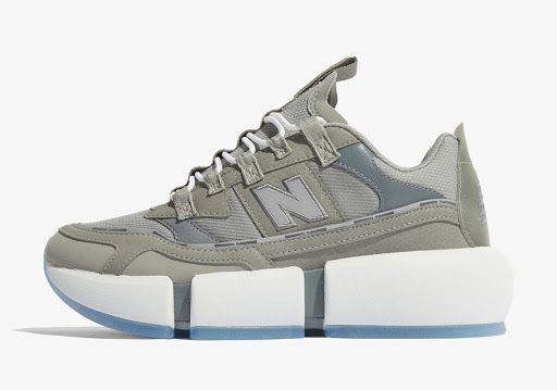 New Balance and Jaden Smith Release A Grey Vision Racer