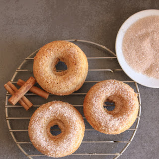 Cinnamon Cake Donuts