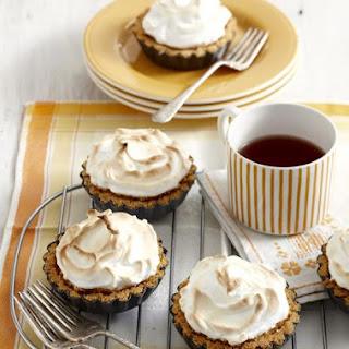 Lemon Meringue Cheesecakes.
