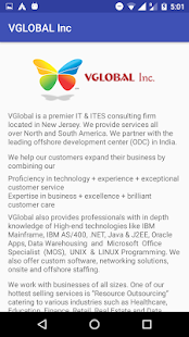VGlobal Inc. - náhled