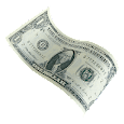 Millionaire money rain