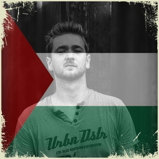 Palestine Flag On Face Maker : Photo Editor