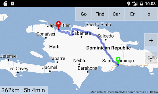 Dominican Rep Haiti Maps D Android Apps On Google Play - Haiti maps