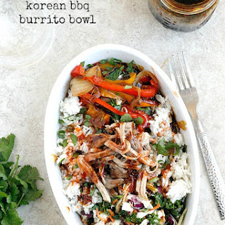 Korean BBQ Burrito Bowl