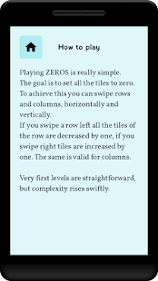 ZEROS - Brain puzzle numbers- screenshot thumbnail